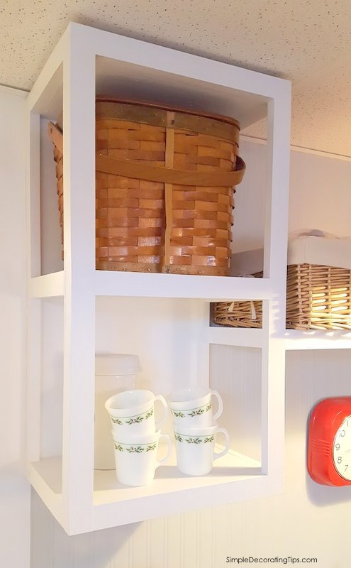SimpleDecoratingTips.com Repurposing Cabinets