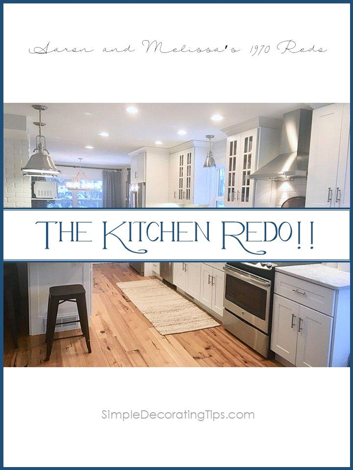 SimpleDecoratingTips.com THE KITCHEN REDO!