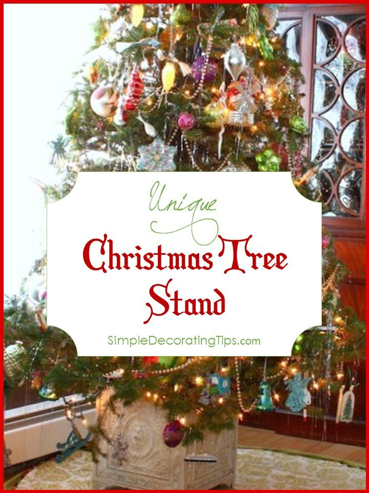 UNIQUE CHRISTMAS TREE STAND