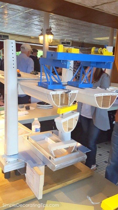 SimpleDecoratingTips.com St. Croix Crossing Bridge Construction Tour