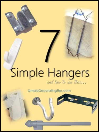 7 Simple Hangers and How to Use Them