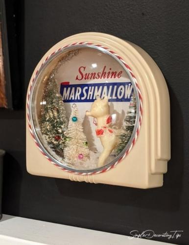 Vintage Clock Diorama