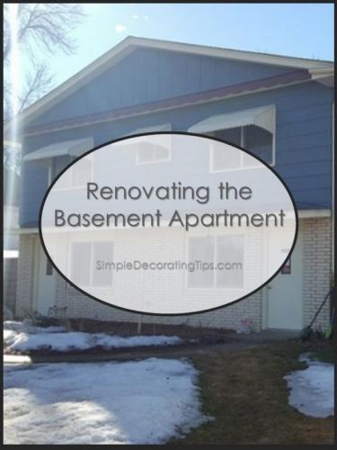 SimpleDecoratingTips.com Renovating the Basement Apartment