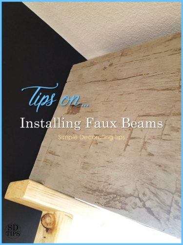 Tips on Installing Faux Beams