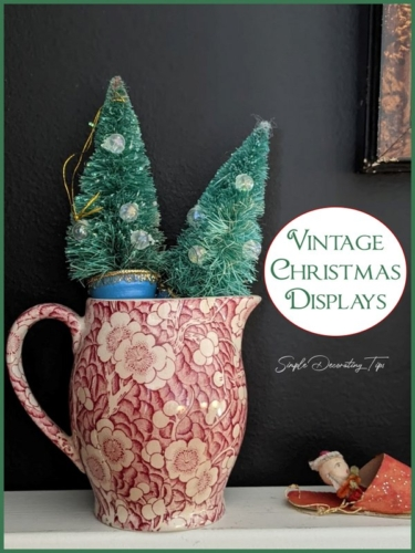 Vintage Christmas on Display