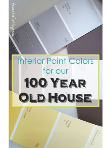SimpleDecoratingTips.com Paint Colors for Our 100 Year Old House