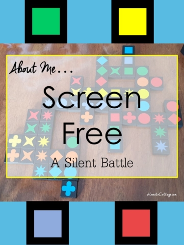 SCREEN FREE... A SILENT BATTLE