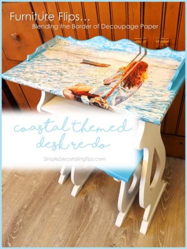 Coastal-Themed-Desk-Re-Do