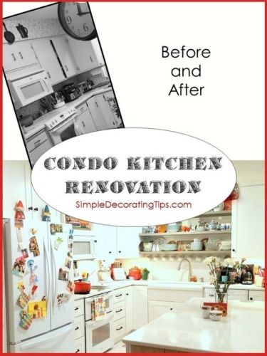 SimpleDecoratingTips.com Condo Kitchen Renovation