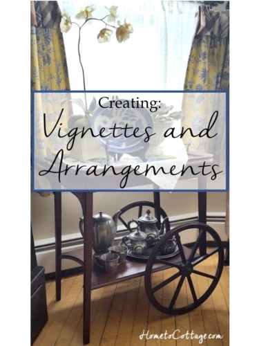 Creating Vignettes and Arrangements SimpleDecoratingTips.com