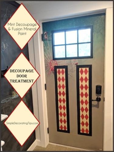 Decoupage-Door-Treatment