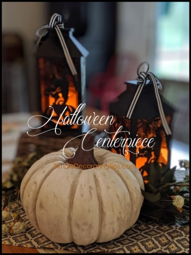 SimpleDecoratingTips.com Halloween Centerpiece