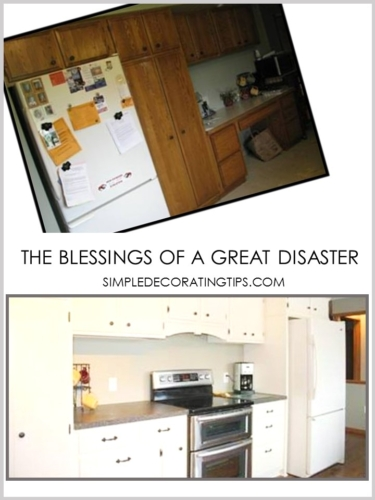 THE BLESSINGS OF A GREAT DISASTER
