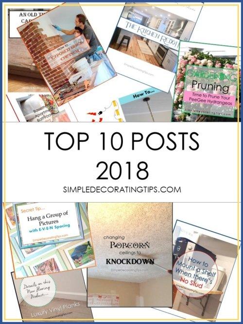 TOP 10 POSTS 2018