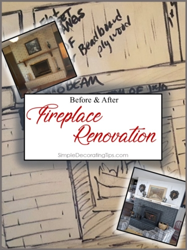 Fireplace Renovation SimpleDecoratingTips.com