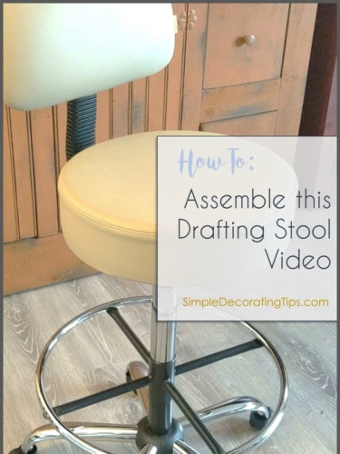 How to Assemble this Boss Drafting Stool VIDEO