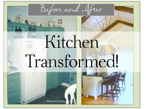 SIMPLEDECORATINGTIPS.com kitchen transformation before and after