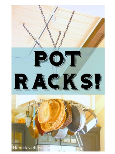 HometoCottage.com pot racks!