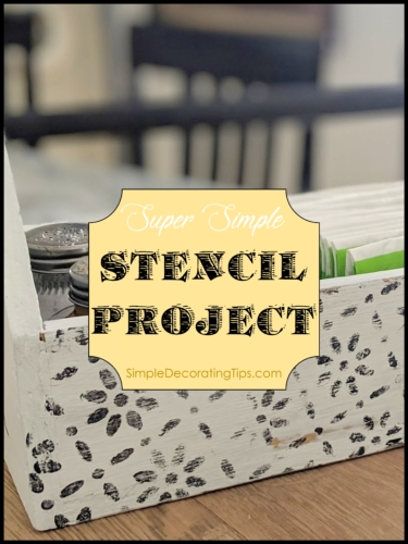 super simple stencil project