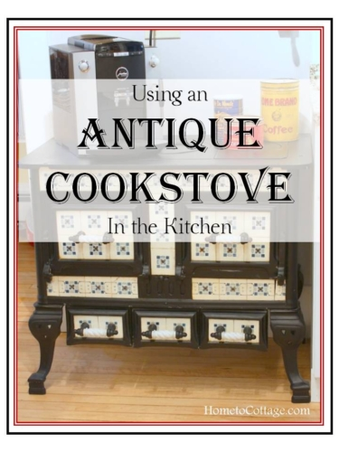 SimpleDecoratingTips.com Using an Antique Cookstove in the Kitchen