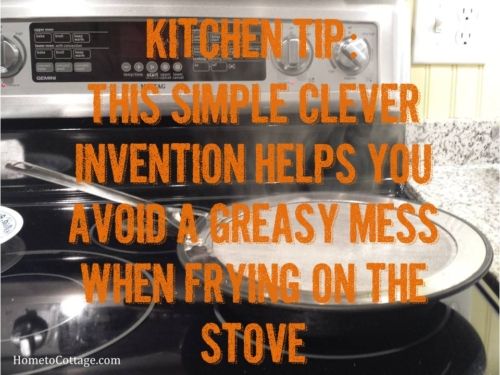 How to Avoid a Greasy Mess when Frying on the Stove