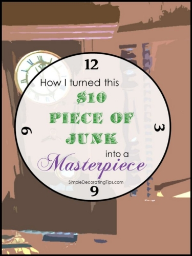 How I turned this $10 piece of junk into a Masterpiece