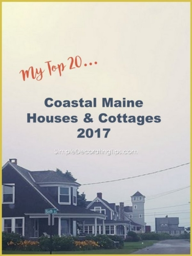 Coastal Maine House & Cottage 2017