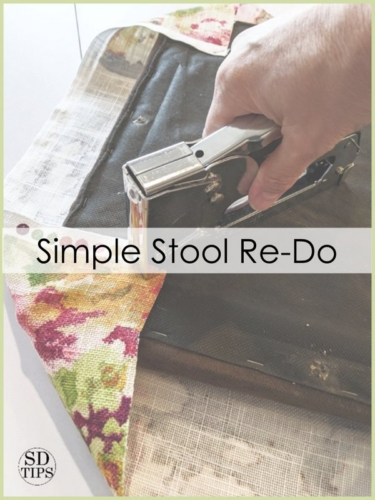 Simple Stool Re-Do