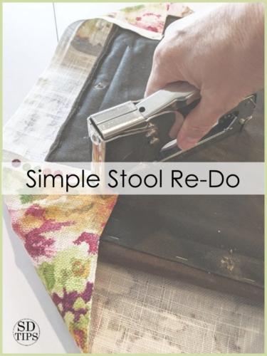 Simple Stool Re-Do