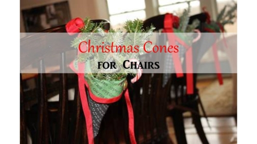 Christmas-Cones-for-Chairs