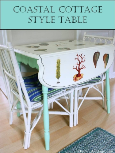 Coastal Cottage Style Table