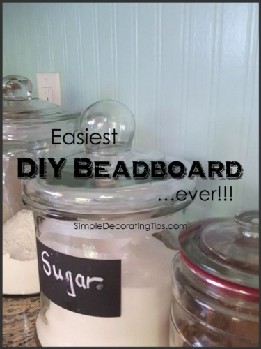 Easiest DIY Beadboard ever