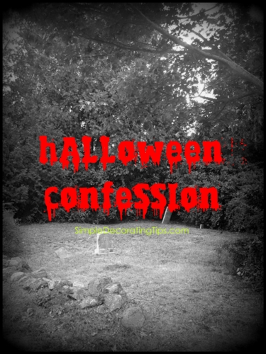 Halloween Confession