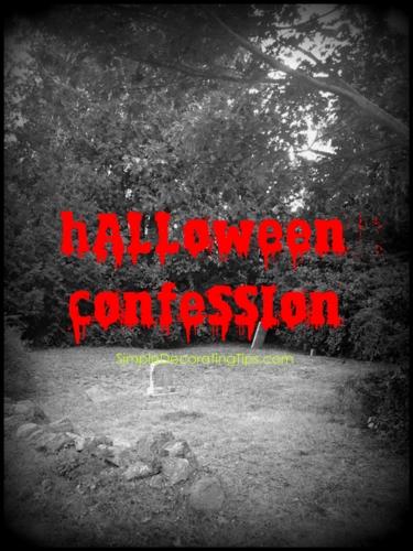 Halloween Confession