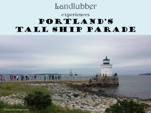 Landlubber's Experiences Tall Ship Parade in Maine