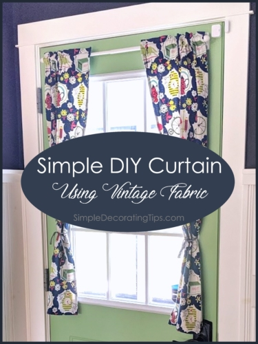 Simple DIY Curtain