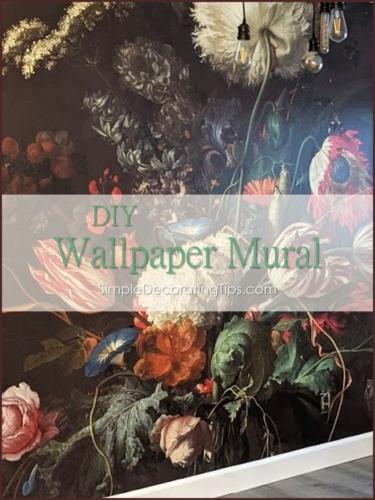 Wallpaper Mural for Frame and Frills studio