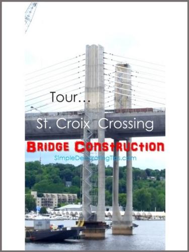 Tour St. Croix Crossing Bridge Construction