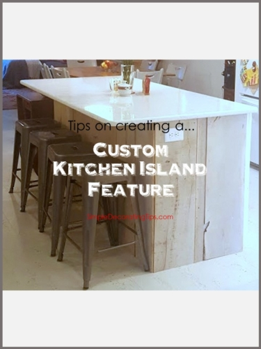 Tips on Creating a Kitchen Island Feature