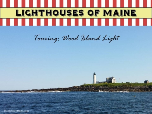 Touring Wood Island Light, Maine