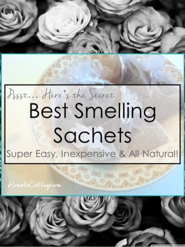 DIY  natural sachets