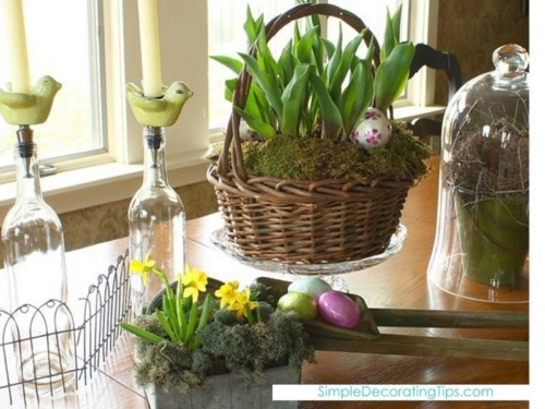 Spring Brunch Centerpiece