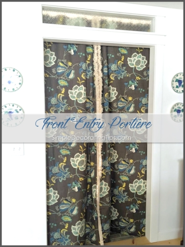 Front Entry Curtain