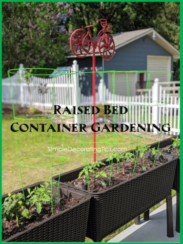 raised bed container gardening title